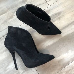 Steve Madden Dip - High Heeled Ankle Boots Black